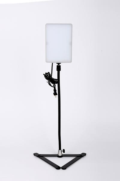 黑熊館 20W Led手機燈 + 軟管 + 翻拍架 套裝組 手機翻拍組 簡易攝影 翻拍 商攝 補光 小物拍攝