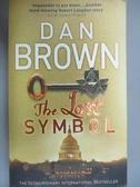 【書寶二手書T8/原文小說_NER】The Lost Symbol_Dan Brown