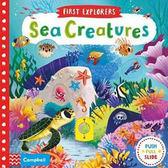 First Explorers:Sea Creatures 小小探險家:海洋世界 推拉硬頁書