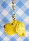 【震撼精品百貨】大頭狗_The Dog~手機吊飾(立體造型)-臘腸大(黃)