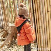 2019新款韓版兒童羽絨服輕薄款女童連帽短款寶寶嬰兒小童羽絨冬裝 漾美眉韓衣