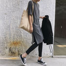 【現貨】休閒棉質連身裙 長洋裝-2色【MU3656】Minuet