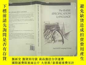二手書博民逛書店THE罕見RAISE SPECIFICATION LANGUAG