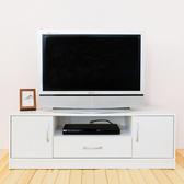 【Hopma】 現代二抽電視櫃/收納櫃-時尚白