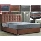 皮床 布床架 CV-169-7A 凱拉5尺深灰色雙人床(不含床墊及床上用品)【大眾家居舘】