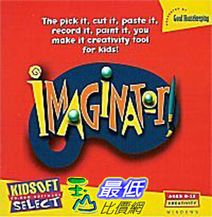 [106美國暢銷兒童軟體] Imaginator Good Housekeeping Kidsoft Book story Writing (PC CD Jewel Case)