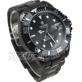 TEVISE特威斯 自動上鍊機械男錶 簍空 鏤空錶背 防水手錶 精美包裝盒 IP黑電鍍 T801槍黑