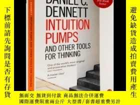 二手書博民逛書店直覺泵和其他思考工具罕見英文原版哲學書籍 Intuition Pumps and Other Tools for