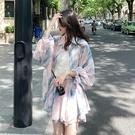 碎花連衣裙夏 早春款2021年新款夏裝茶歇法式碎花連衣裙子大碼女裝胖mm套裝夏季 設計師