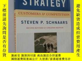 二手書博民逛書店Marketing罕見Strategy:Customers &