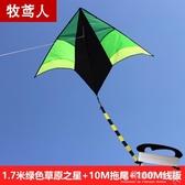 風箏微風易飛大型成人高檔兒童長尾三角大草原初學者YYP 歐韓流行館