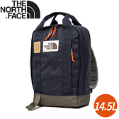 【The North Face 14.5L 背提包《深藍》】3KYY/後背包/筆電包/雙肩背包/休閒背包