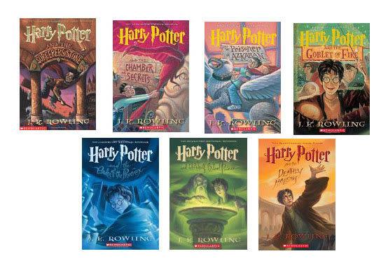 HARRY POTTER 哈利波特1-7集英文版