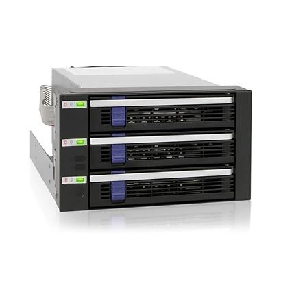 ICY DOCK 3.5吋 SATA HDD 熱插拔(3轉2) 硬碟背板模組 MB153SP-B [富廉網]