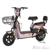 加州豹新國標電動自行車成人帶腳蹬鋰電瓶48v踏板小型電動車女士 HM 范思蓮恩