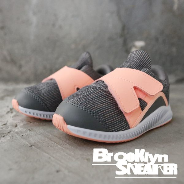 ADIDAS FortaRun X Shoes 灰粉 魔鬼氈 小童 (布魯克林)  AH2479