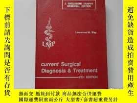 二手書博民逛書店current罕見Surgical Diagnosis & Tr
