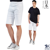 【特價款 即將斷貨】日本布料_白色英倫風單品 休閒側袋短褲(中腰) 390(9421)
