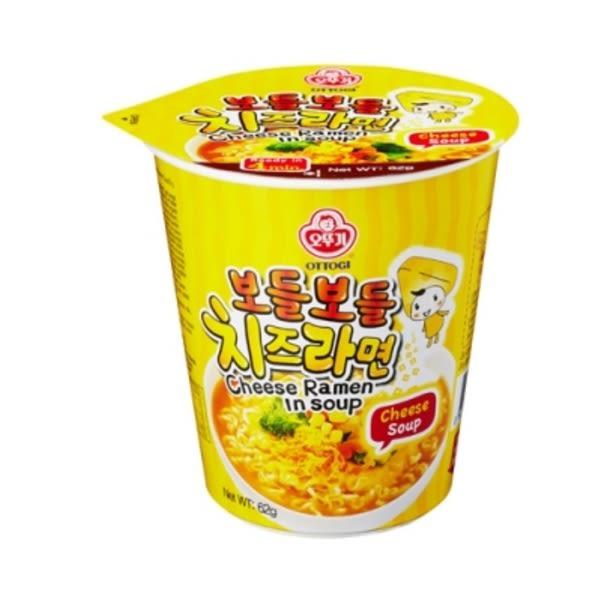 【韓國不倒翁起司風味湯杯麵 - 62g 】2014全球十大好吃泡麵TOP6