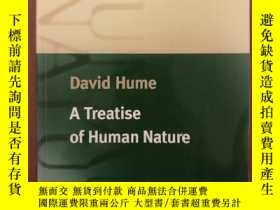 二手書博民逛書店A罕見Treatise of Human Nature (Oxf