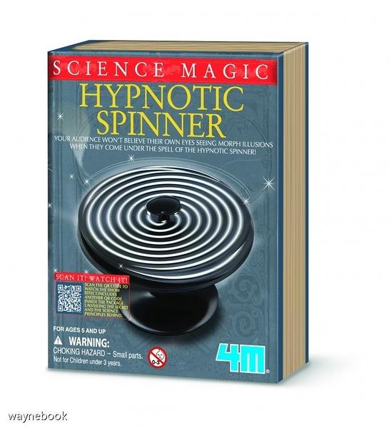 Hypnotic Spinner 魔幻之輪 變魔術學科學 魔術道具 適合5歲以上