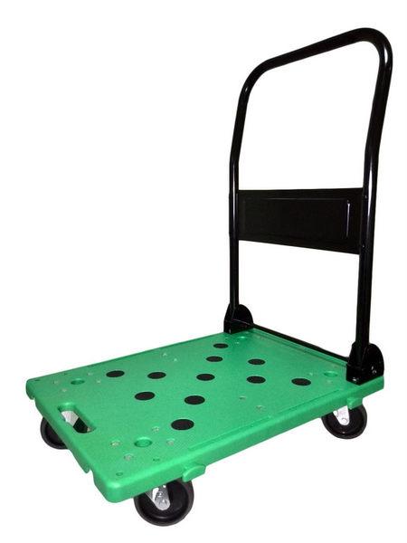 【精捷順】高CP值塑鋼折疊兩用手推車(300kg)