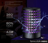 2021新款usb光觸媒電擊式滅蚊燈家用LED滅蚊器捕蚊燈 lanna
