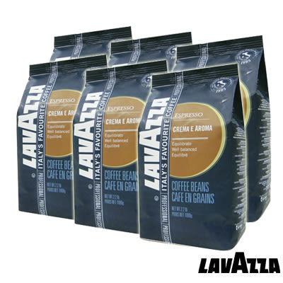 義大利【LAVAZZA】CREMA E AROMA咖啡豆(1000g) / 一箱6包