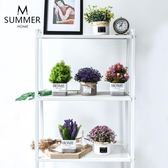 【新年鉅惠】創意北歐田園陶瓷仿真假花盆景盆栽文藝客廳餐廳柜子裝飾擺件道具
