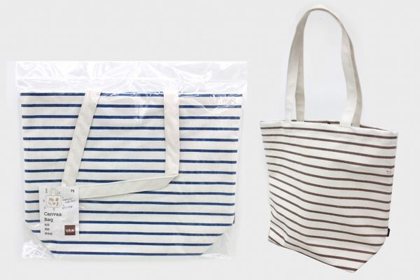 【好市吉居家生活】生活大師UdiLife S3075 船型/條紋帆布袋(立體) 購物袋 環保袋