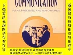 二手書博民逛書店Business罕見And Professional Communication: Plans Processes
