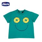 chicco-TO BE-鳳梨笑臉短袖上衣