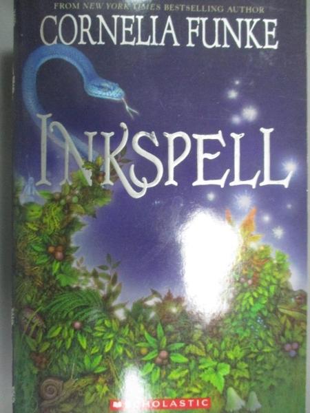 【書寶二手書T3/原文小說_IJJ】Inkspell_Funke, Cornelia Caroline/ Bell, A