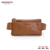 【南紡購物中心】【vensers】小牛皮潮流個性腰包(NE057501黃油皮)