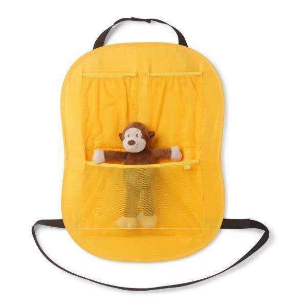 mothercare MGO 椅背收納袋-黃、粉色