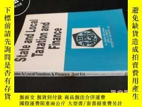 二手書博民逛書店State罕見and Local Taxation and Fi