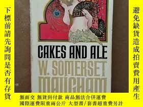 二手書博民逛書店CAKES罕見AND ALEY269331 W.SOMERSET MAUGHAM POCKET BOOKS