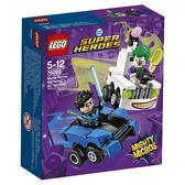【LEGO 樂高積木】SUPER HEROES 超級英雄系列 - Mighty Micros: Nightwing vs. The Joker LT-76093