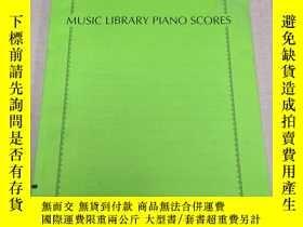 二手書博民逛書店music罕見library piano scores 音樂庫鋼琴樂譜Y447779 CASIO