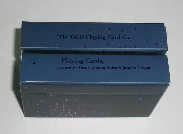【USPCC撲克館】Dan&Dave Voltige Playing Cards DECK Parisian Blue