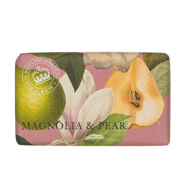 岡山戀香水~Kew Gardens 英國皇家植物園 乳木果油天然香皂 240g (香梨木蘭花) ~優惠價:299元