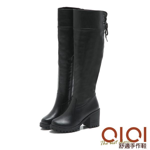 長靴 纖腿魔法2way及膝長靴(黑) *0101shoes【18-1758bk】【現+預】