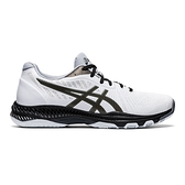 Asics Netburner Ballistic Ff 2 [1051A041-100] 男鞋 羽球 排球 緩震 白黑