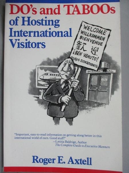 【書寶二手書T3/原文書_YCN】Do's and Taboos of Hosting International Visitors_Axtell, Roger E.