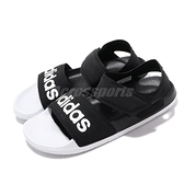 adidas 涼拖鞋 Adilette Sandal 黑 白 女鞋 魔鬼氈 涼鞋 基本款 【ACS】 G28695