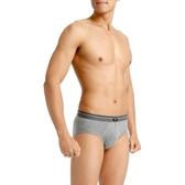 三槍牌 時尚經典純棉型男彈力棉三角褲~3件組(隨機取色)
