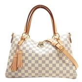 LOUIS VUITTON LV 路易威登 白棋盤格手提肩背2way包 Lymington N40022 【BRAND OFF】