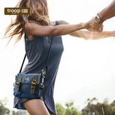 【TROOP】經典品格CLASSIC單肩包/TRP0111BL(藍色)