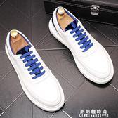 新品夏季男鞋休閒鞋豆豆鞋男潮懶人鞋樂福鞋男士板鞋透氣小白鞋子【果果新品】