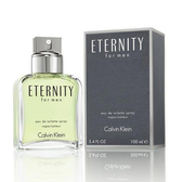 Calvin Klein CK Eternity 永恆男性淡香水 100ml【5295 我愛購物】